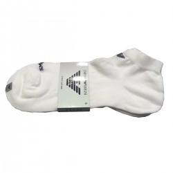 FOOTLET SOCKS STRETCHED COTTON MADE IN ITALY WHITE