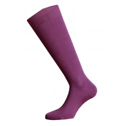 LONG SOCKS MADE IN ITALY 100% COTTON - PINK