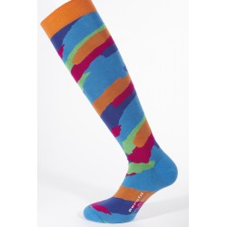 LONG SOCKS BLUETTE CAMOUFLAGE