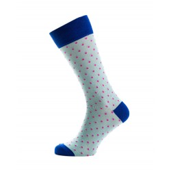 SHORT SOCKS POIS IN COTTON