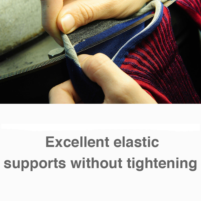 Excellent elastic supports without tightening