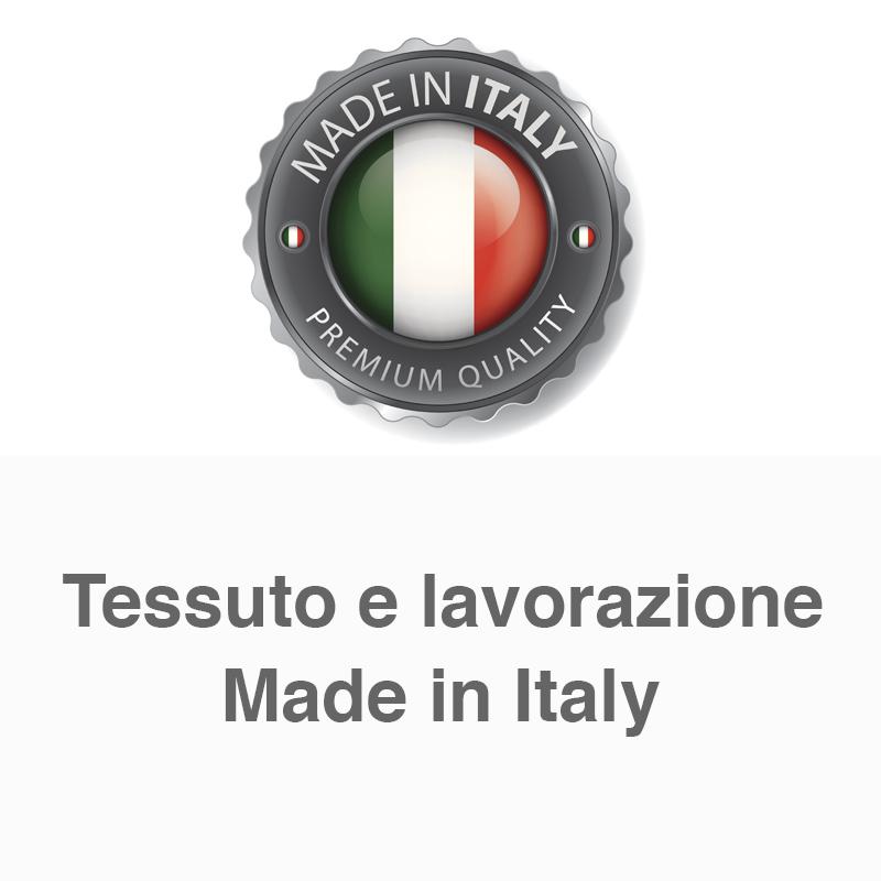 Tessuto e lavorazione Made in Italy