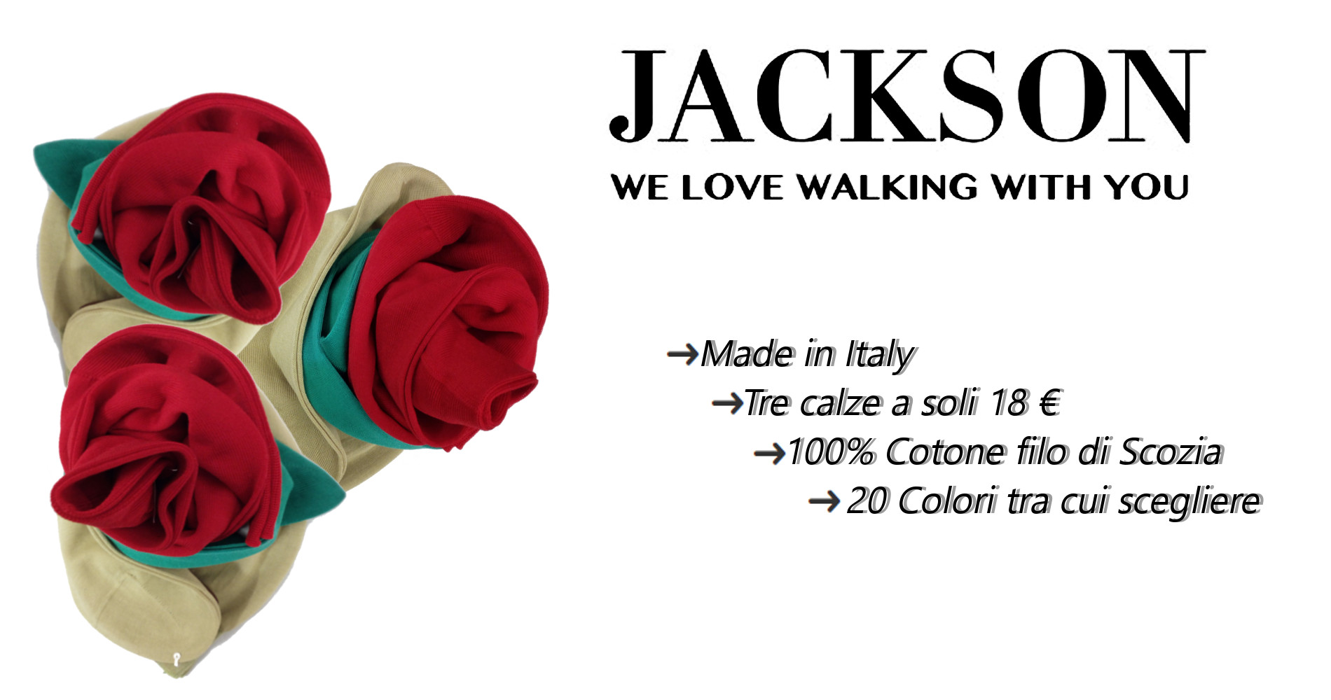 Jackson Socks - Calze di Classe