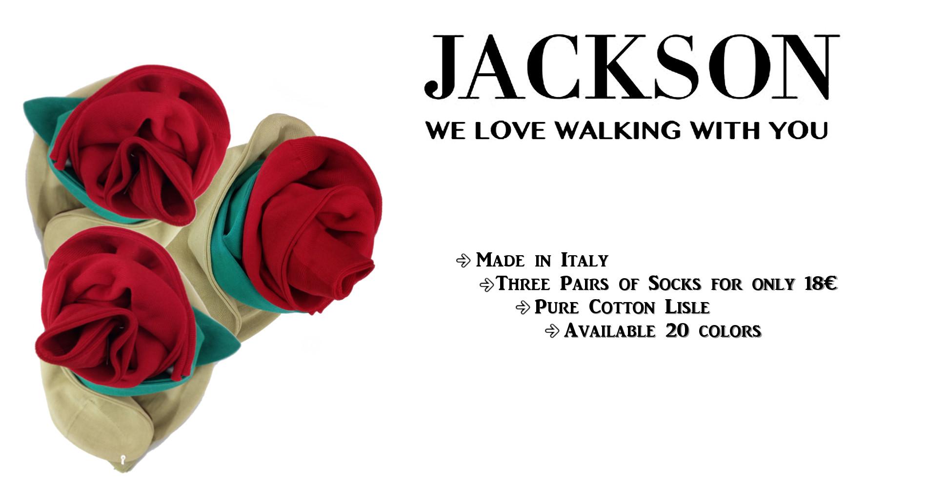 Jackson Fashon Socks